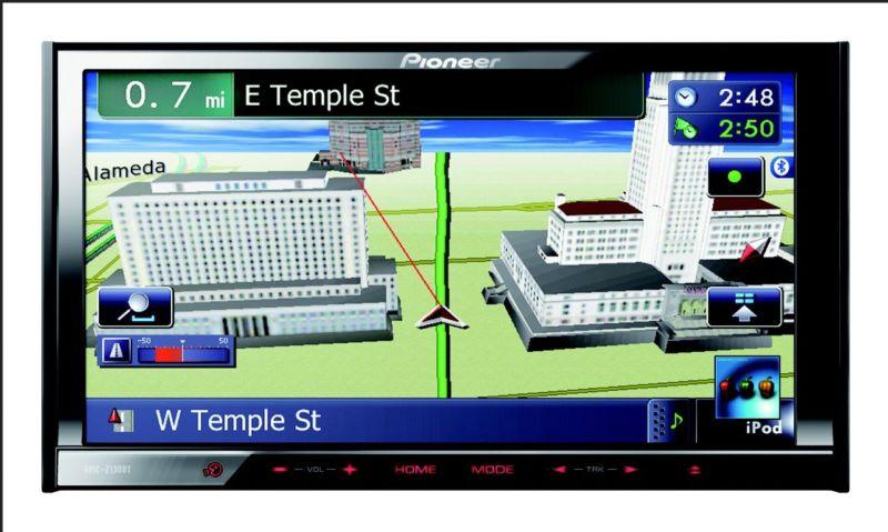 Автомагнитолы с навигацией пионер и обзор популярной модели