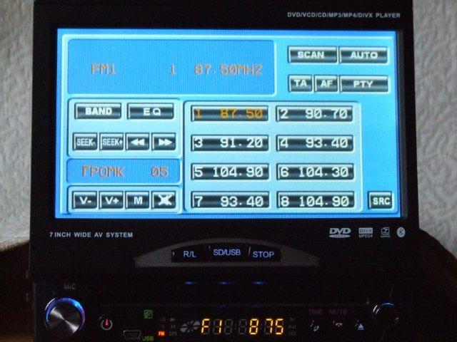 Автомагнитолы pioneer с сенсорным экраном