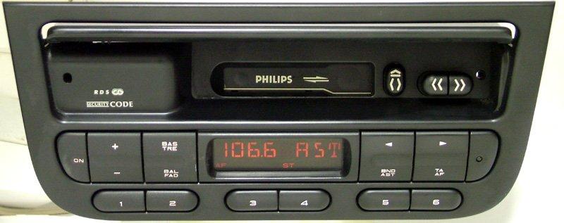 Philips автомагнитолы кассетные  и их установка