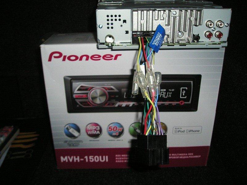Pioneer MVH-150 UI