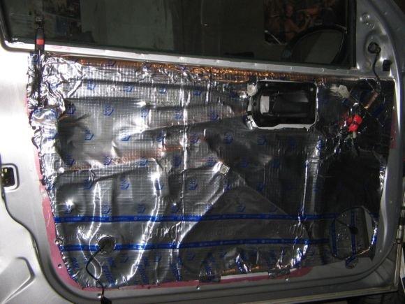 Акустические двери в авто своими руками
