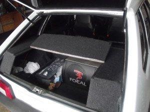 Акустический багажник в Ваз 2114