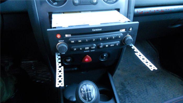 разблокировка магнитолы на автомобилях renault symbol