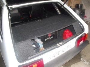 Вариант акустической полки в багажник