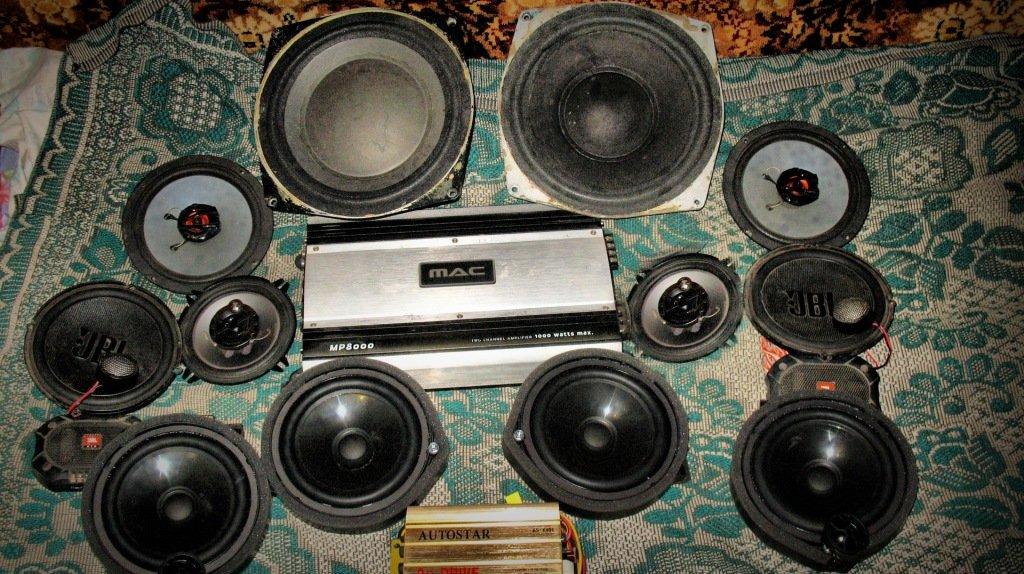 3 х полосная компонентная акустика