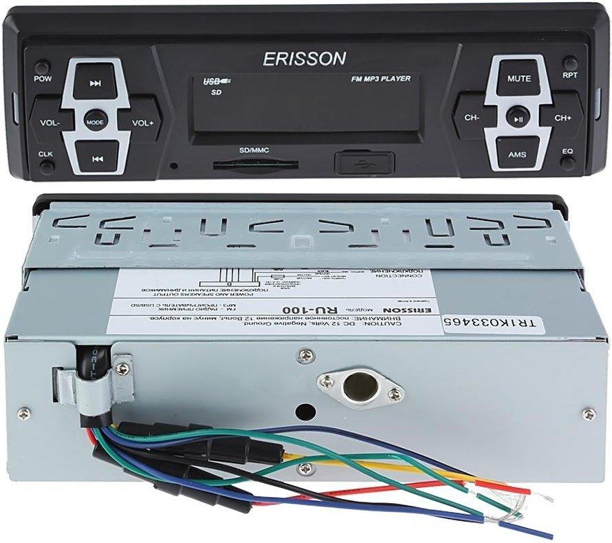 инструкция по эксплуатации Erisson Ru-1033 - фото 3
