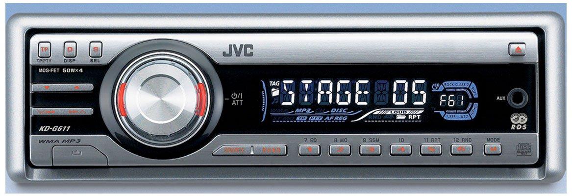 JVC автомагнитола KD G611
