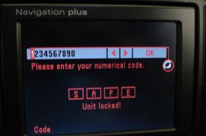 Калькулятор кода автомагнитол audi
