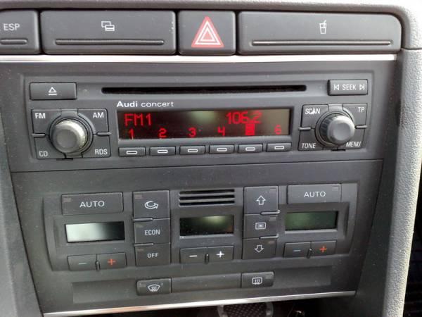 Калькулятор кодов автомагнитолы audi