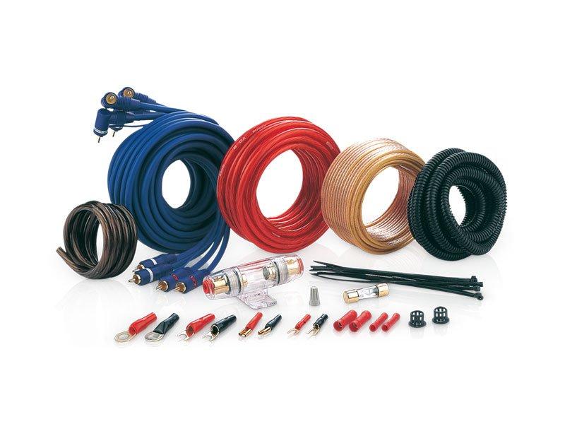 Комплект проводов для подключения усилителя