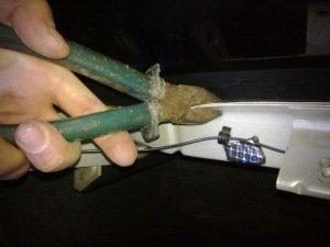 Полка акустическая на Ваз 2115 и ее демонтаж