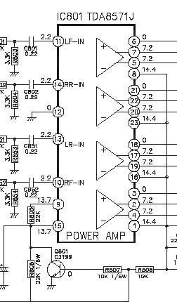 Схема принципиальная автомагнитолы lg