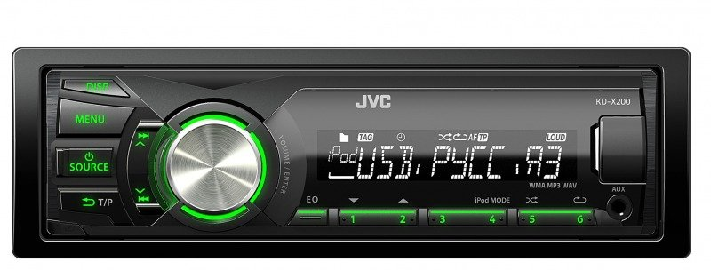 JVC автомагнитолы бездисковые и их обзор