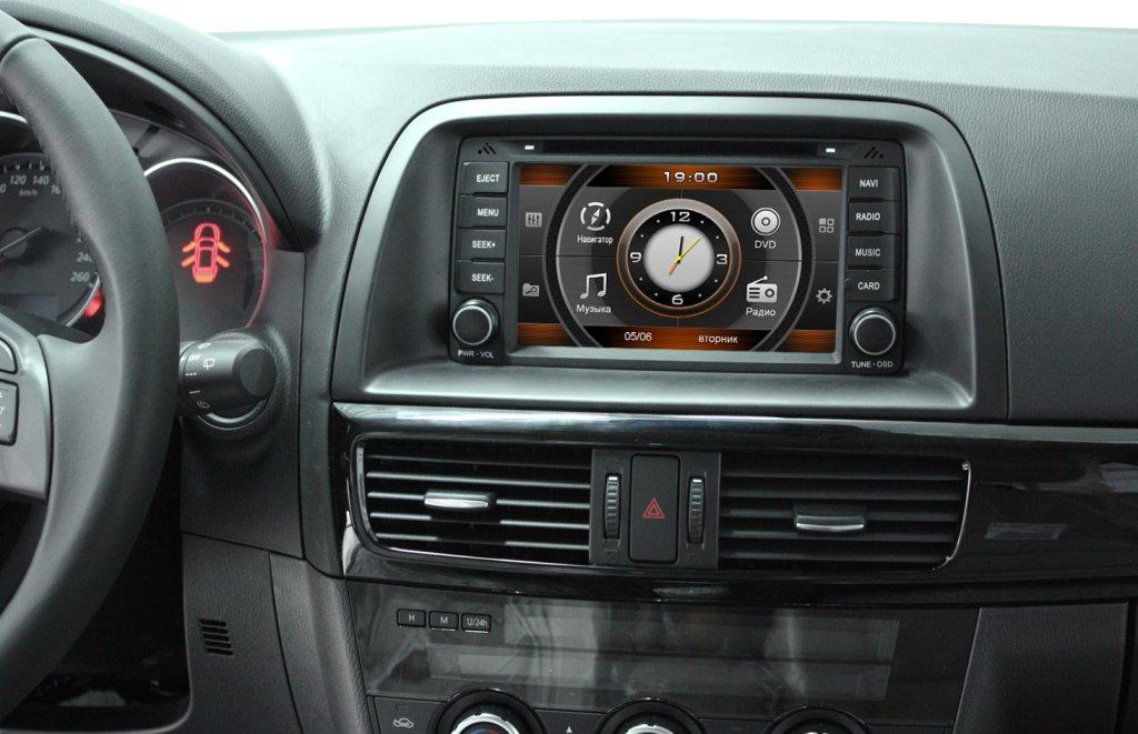 Автомагнитолы для Mazda 5 и их правильный выбор