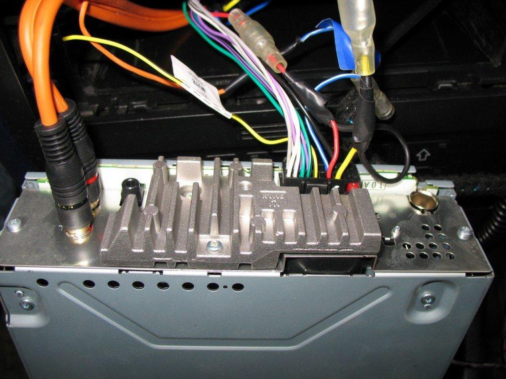 подключить магнитолу авто схемы