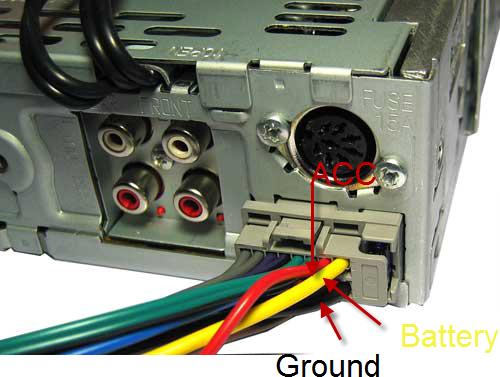 Подключение автомагнитолы к сети 220