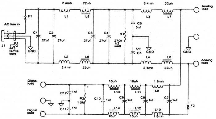 Схема кроссовера