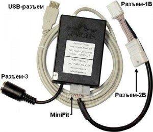 Как подключить айпод к автомагнитоле через USB адаптер