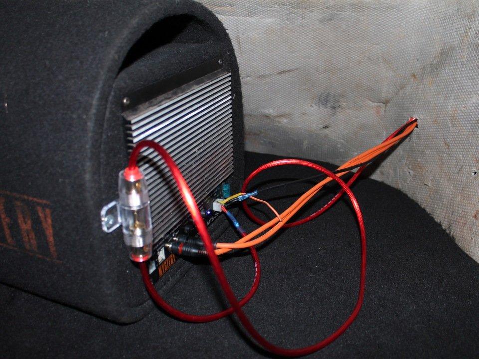 Подключение сабвуфера к 4 канальному усилителю