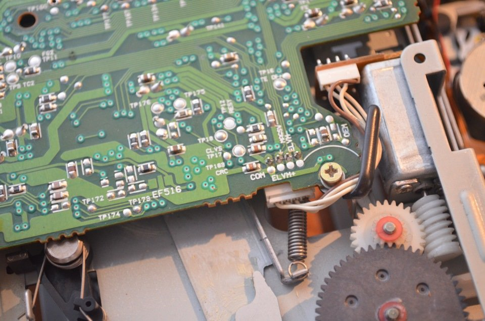 Ремонт сд привода автомагнитолы