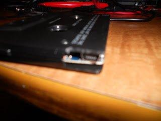 USB-разъём в корпусе кассеты
