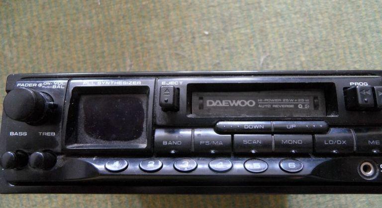 Кассетные автомагнитолы Daewoo
