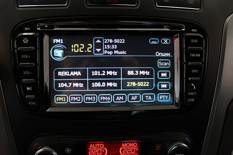 Штатная автомагнитола ford focus 2