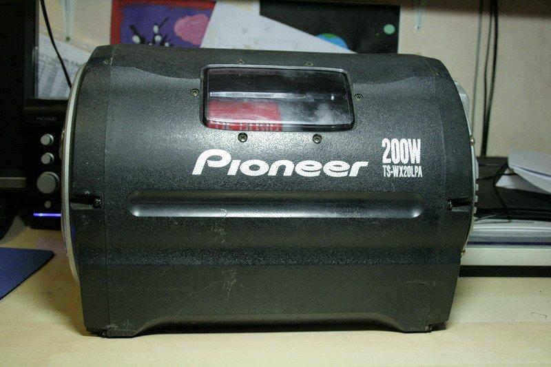 Pioneer активный сабвуфер
