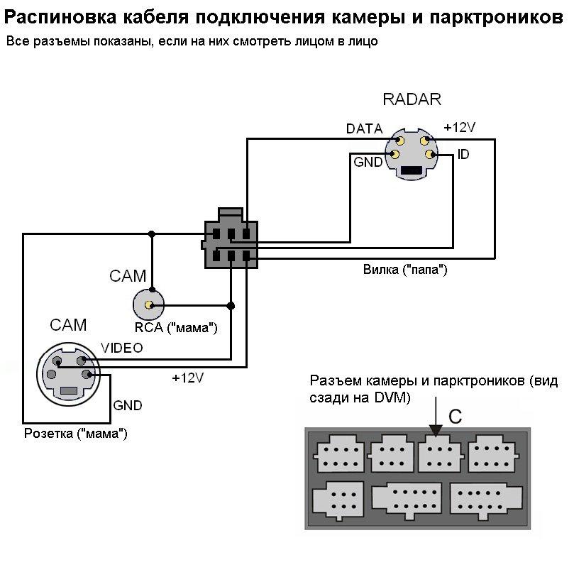 Схема подключения КЗВ к