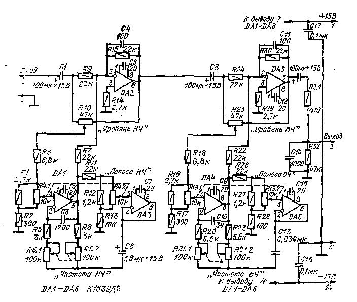 параметрический эквалайзер