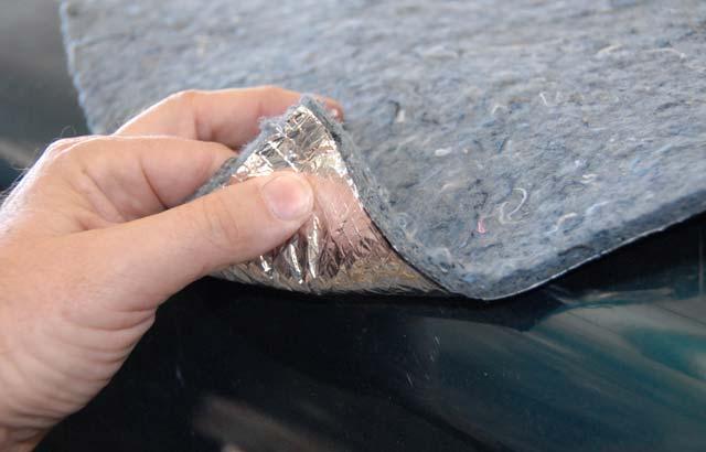 Шумоизоляция авто своими руками строительными материалами