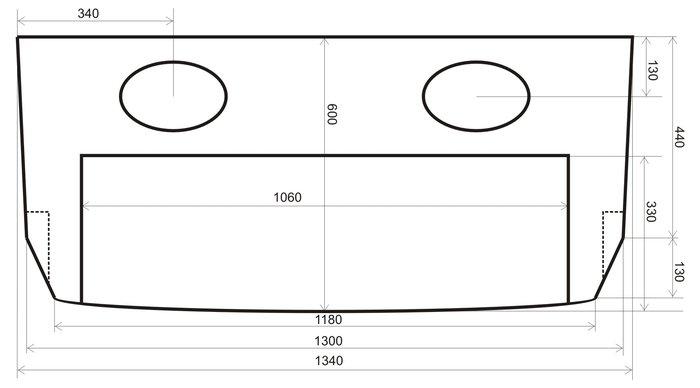 Полка акустическая Ваз 2114 и