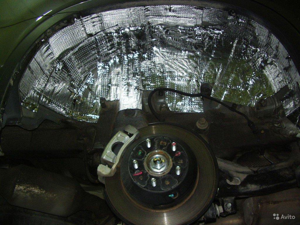 Шумоизоляция арок автомобиля разными материалами