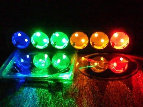 Цветомузыка из светодиодов своими руками видео