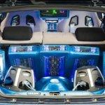 Аудио система в багажнике