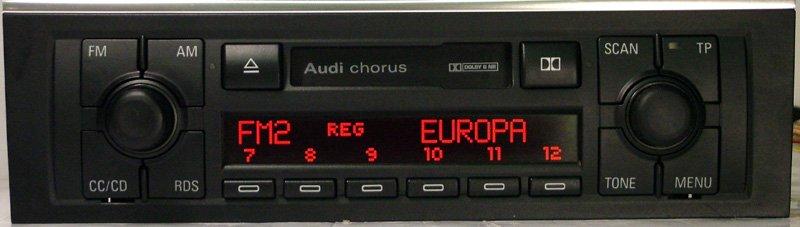 Audi chorus автомагнитола