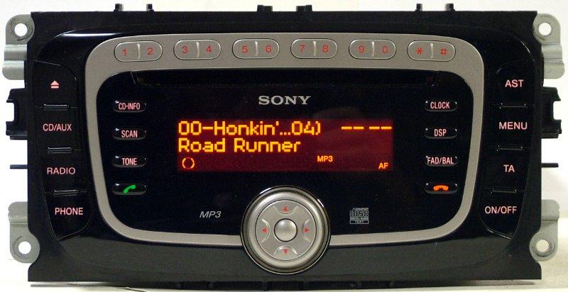 руководство магнитола sony ford c-max