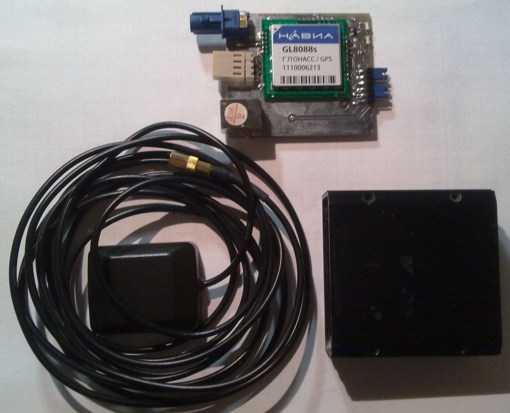Модуль и антенна GPS