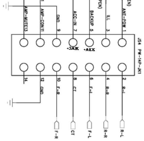 Схема подключения магнитолы сони cdx фото 695