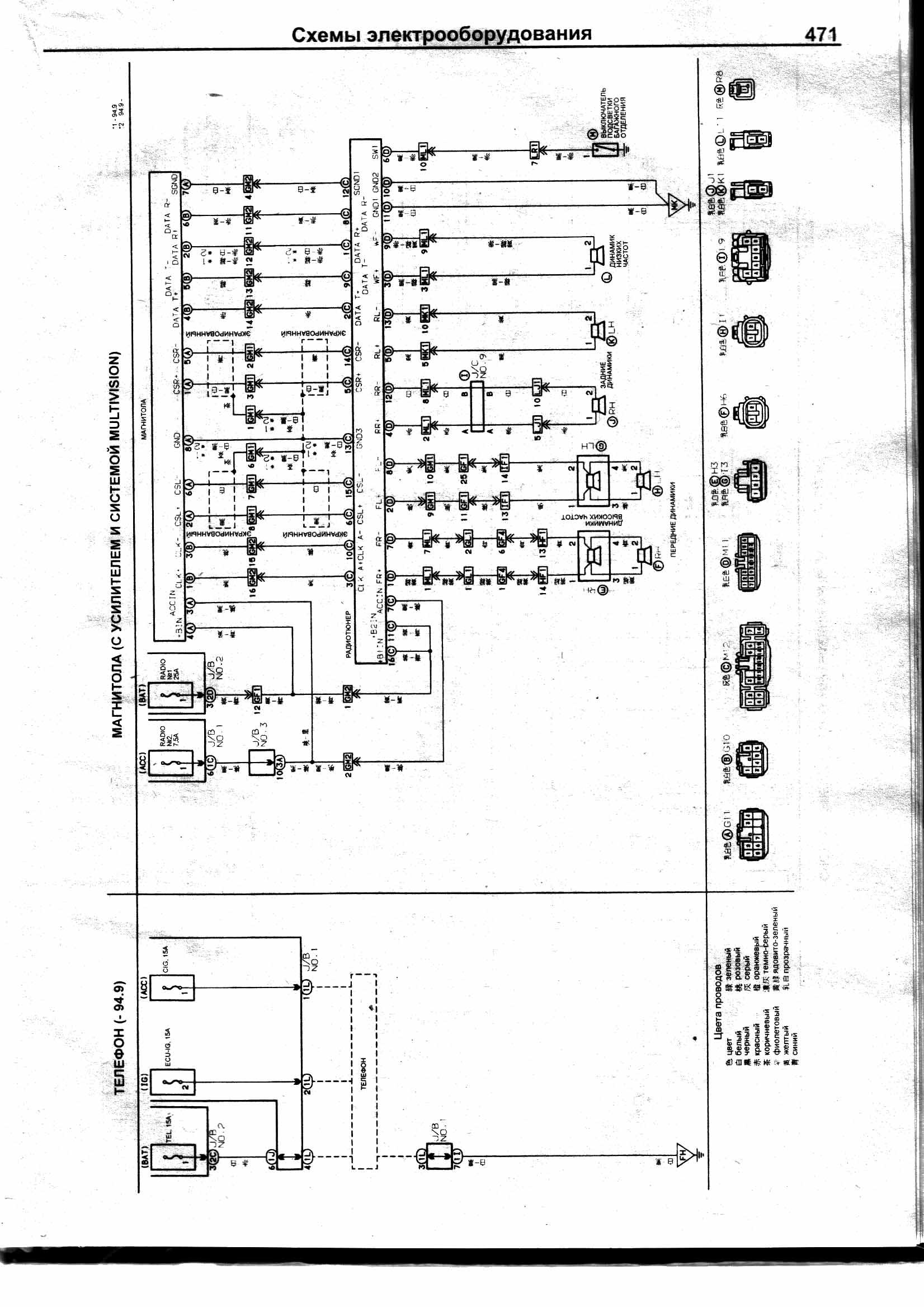 схема магнитолы