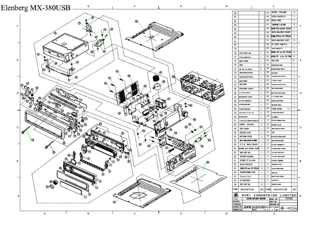 Aвтомагнитола elenberg mx 380 usb и ее руководство по эксплуатации