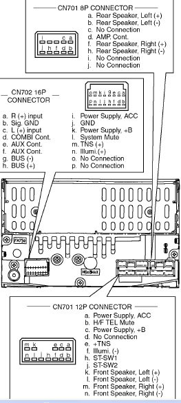 Схема подключения toyota магнитолы фото 832
