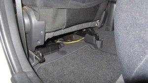 Активный автомобильный сабвуфер под сиденье