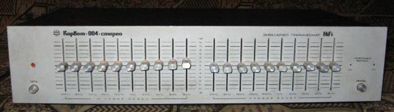 Эквалайзер графический корвет