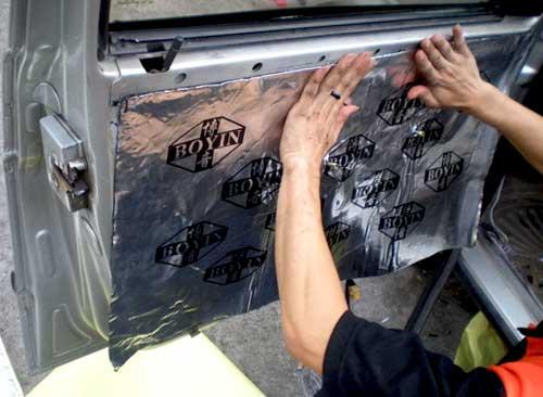 Чем обработать арки автомобиля для шумоизоляции