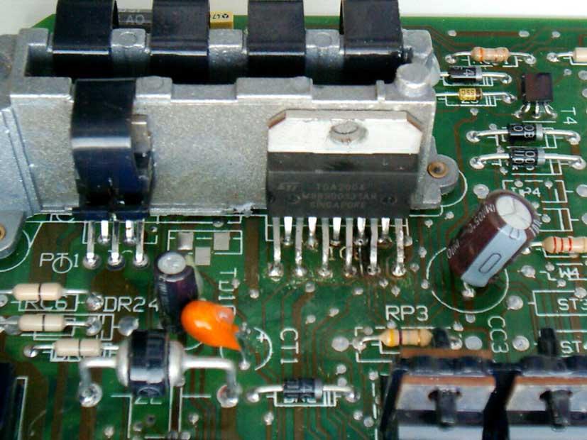 Микросхема усилителя мощности автомагнитолы