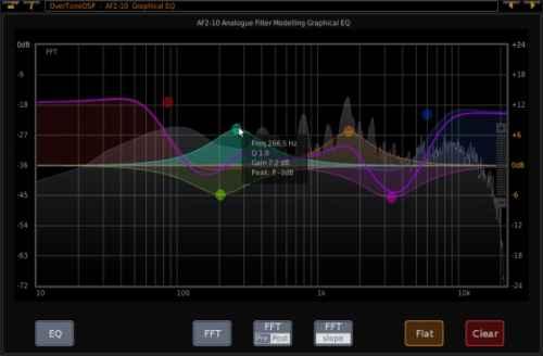 Обработка звука графическими эквалайзерами