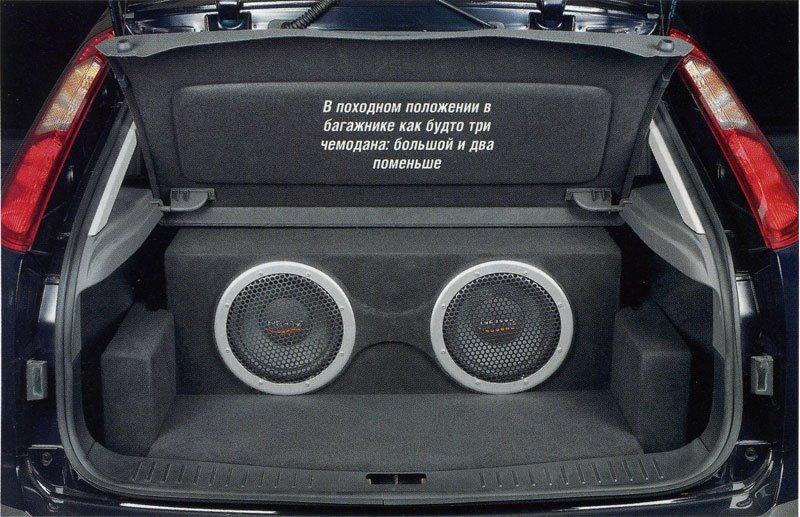 Сабвуфер на ford 2