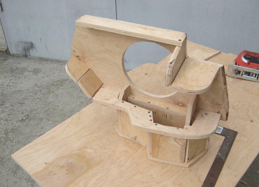 Сложная конструкция стелс