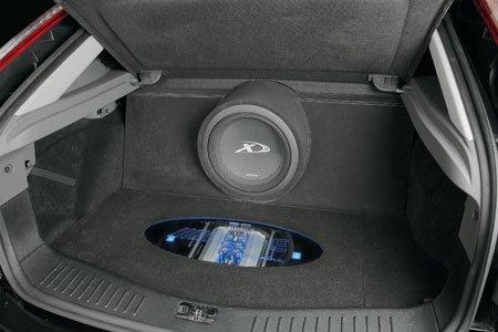 Установка сабвуфера в форд фокус 2